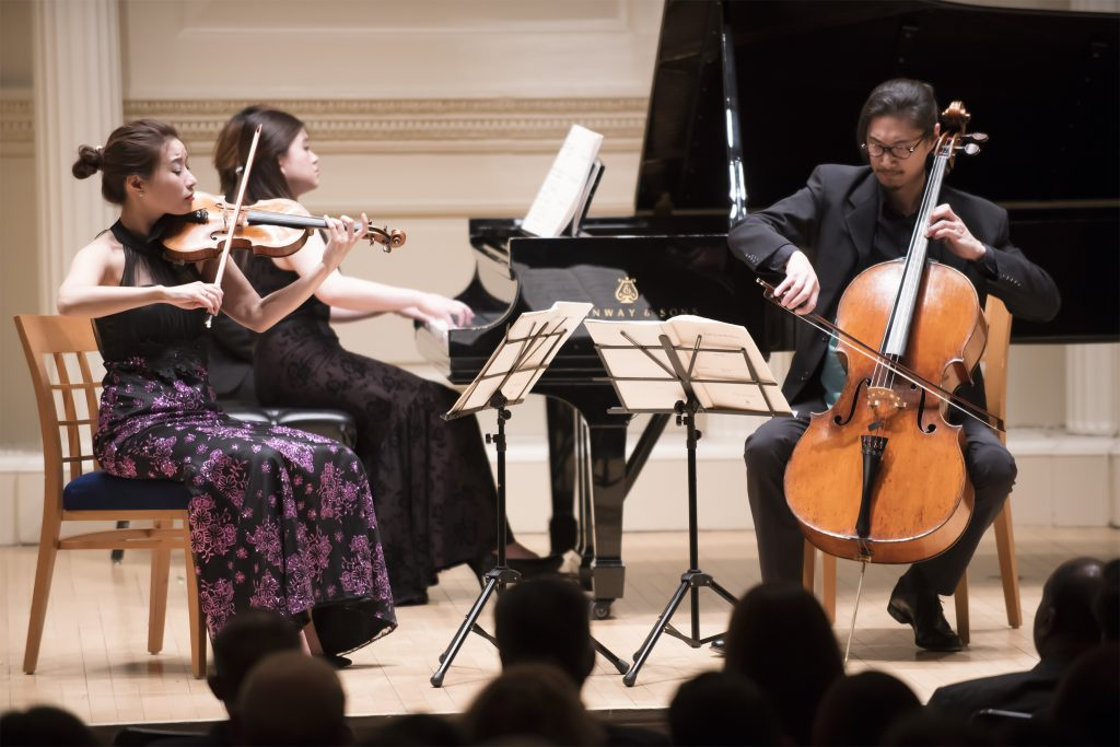 2018.04.06 Fournier Trio at Carnegie Hall