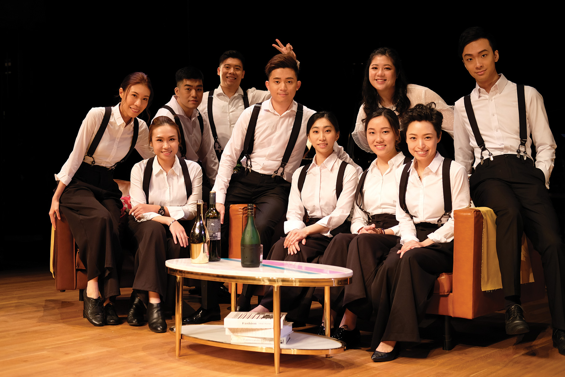 """Bel Canto Singers: """"My Beloved"""" – by Giacomo Puccini: The Ensemble with Liù. Photo credit: © David Quah"""